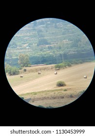 landscape seen with the spyglass