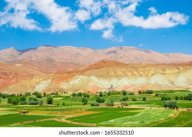 A landscape of Shah rood villages- Iran
