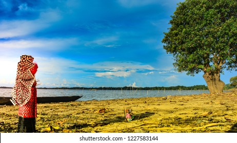 Landscape shoot of son beel, wetland Son Beel is one of the largest lakes in southern Assam in India. It is situated in the Karimganj district, and is the largest wetland in Assam state.