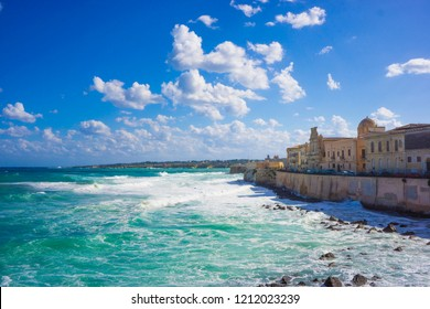 Landscape of Siracusa (Sicily, Italy)
