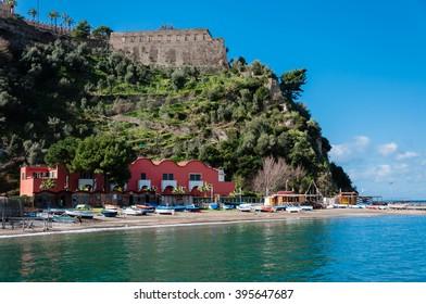 Landscape of the Sorrento coast