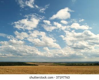 Landscape in Southern Moravia