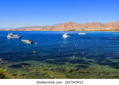 Landscape in Spain on the coast of Costa Calida, Cartagena, Murcia