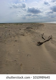 The Landscape at Spurn Point in Yorkshire