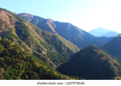 landscape of Sumata Gorge