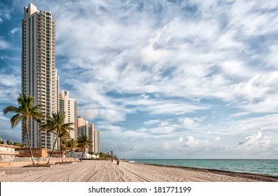 Landscape of Sunny Isles Beach, is a city located in Miami County, Florida, USA