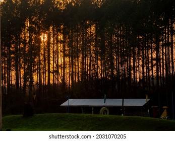 landscape sunset goldenhour light outdoor