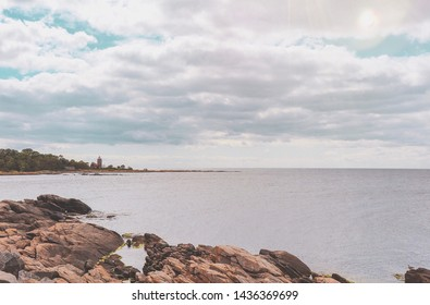 Landscape. Taking on Bornholm, Denmark