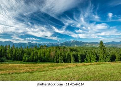 Landscape, Tatra Mountains, Poland - Shutterstock ID 1170544114