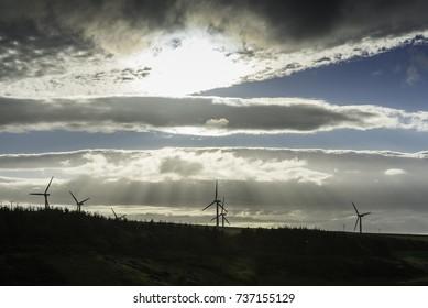landscape in thurso countryside