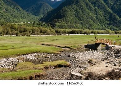 landscape of tibet automonous  region