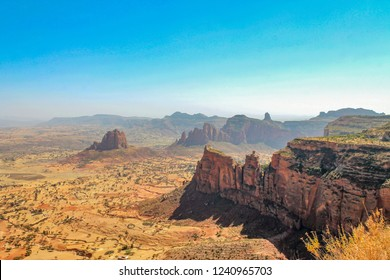 The landscape from tigray, Ethiopia