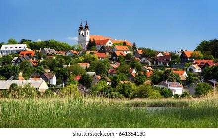 Landscape of Tihany at Lake Balaton, Hungary