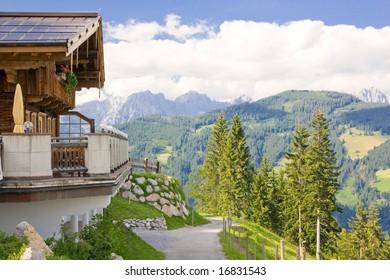 landscape in Tirol