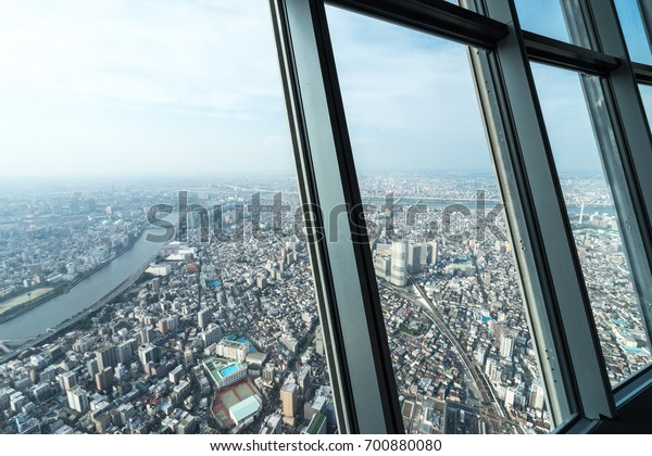 Landscape from Tokyo SkyTree, Japan