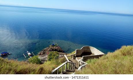 The LandScape Of The Top Of Daraunak  Island Cam  Sir Phillipines