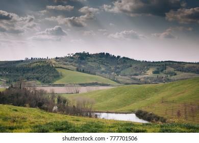 Landscape of the toscana
