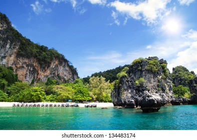 landscape of tropical island Thsiland