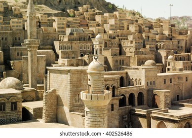 Landscape of the turkish city Mardin