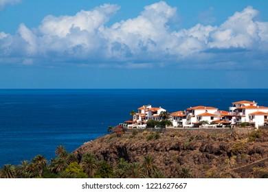 Landscape of the Turman in Agaete, Gran Canaria.