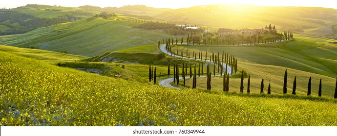 Landscape in Tuscany, Italy