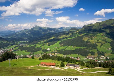 Landscape from Tyrol valley, Austria