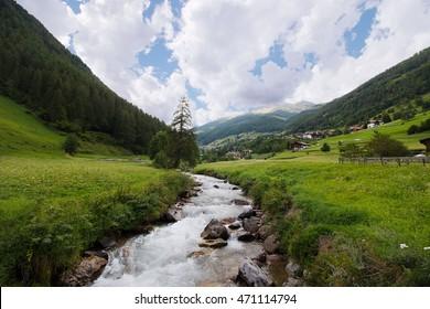 landscape of Val di Rabbi