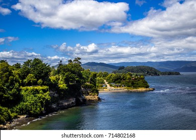 landscape Valdivia Chile