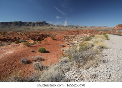 Landscape of Valley of Fire, Nevada
