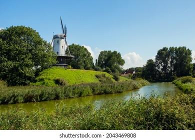 Landscape in Veere, the Netherlands