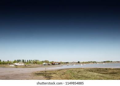 landscape view arond maldon and heybridge