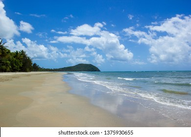 landscape view of Cape Tribulation in Daintree National Park in the far tropical north of Queensland, Australia