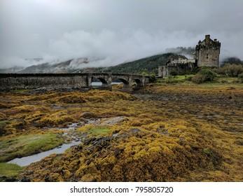 Landscape View of Eilean Donan Castle, Scotland