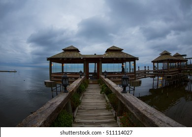 Landscape view of the Iznik lake in Iznik, Turkey