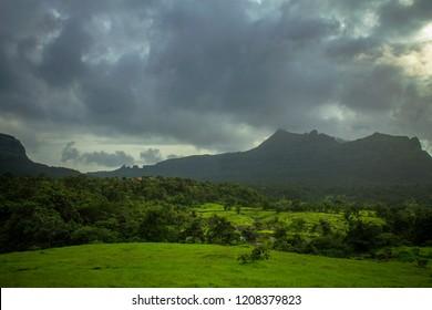 Landscape view Lonavala