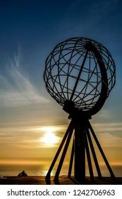 Landscape view in Nordkapp North Cape Norway Europe