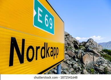Landscape view in Nordkapp North Cape Norway Europe , taken in nordkapp, europe