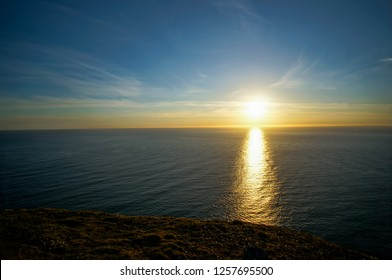 Landscape view in North Cape, Nordkapp Norway