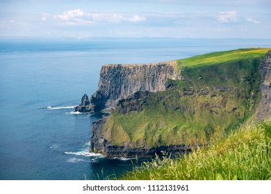 Landscape view on Cliffs of Moher in County Clare - Ireland