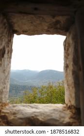 landscape view from osios loukas monastery, Distomo, Greece - Shutterstock ID 1878516832