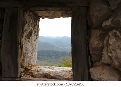 landscape view from osios loukas monastery, Distomo, Greece - Shutterstock ID 1878516955