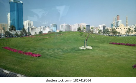 landscape view of sharjah city