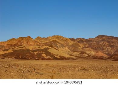 Landscape views at Death Valley National Park
