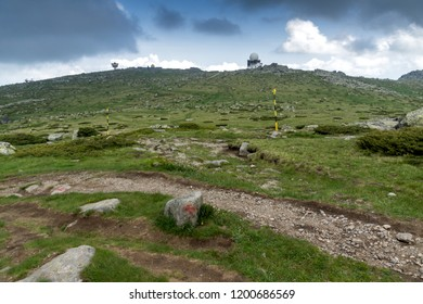 Landscape of Vitosha Mountain near Cherni Vrah Peak, Sofia City Region, Bulgaria