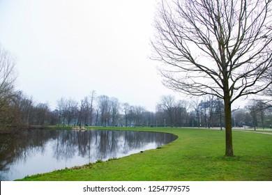 Landscape of Vondelpark,Amsterdam