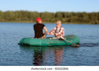 landscape water fishing