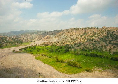 Landscape of Waziristan Pakistan. Mountains of Balochistan Waziristan