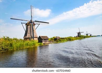 Landscape of wind mill