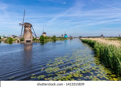 Landscape with Windmill the Netherlands