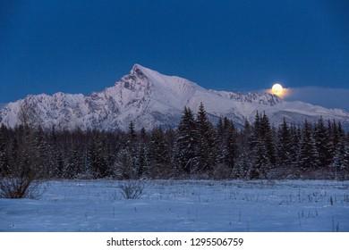 Landscape  Winter  Sumer  Moutain Krivan